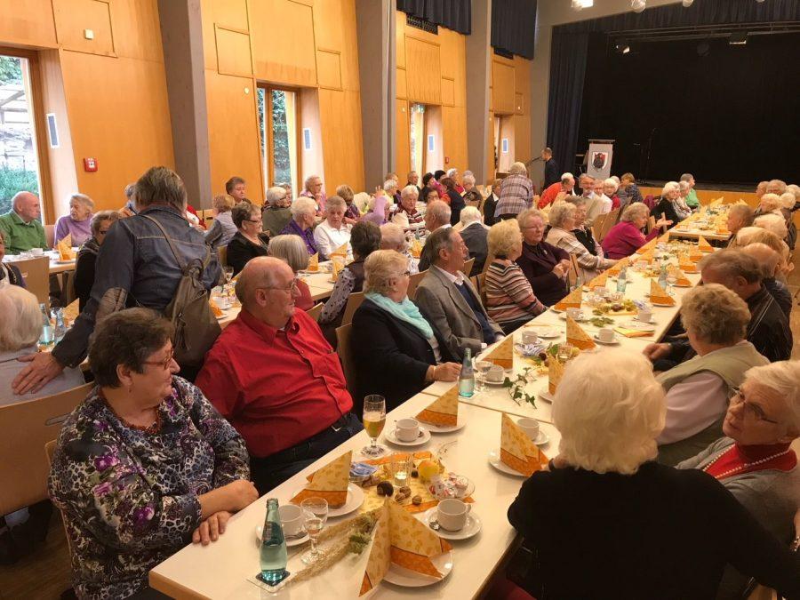 Impressionen des Seniorennachmittags in der Kernstadt.