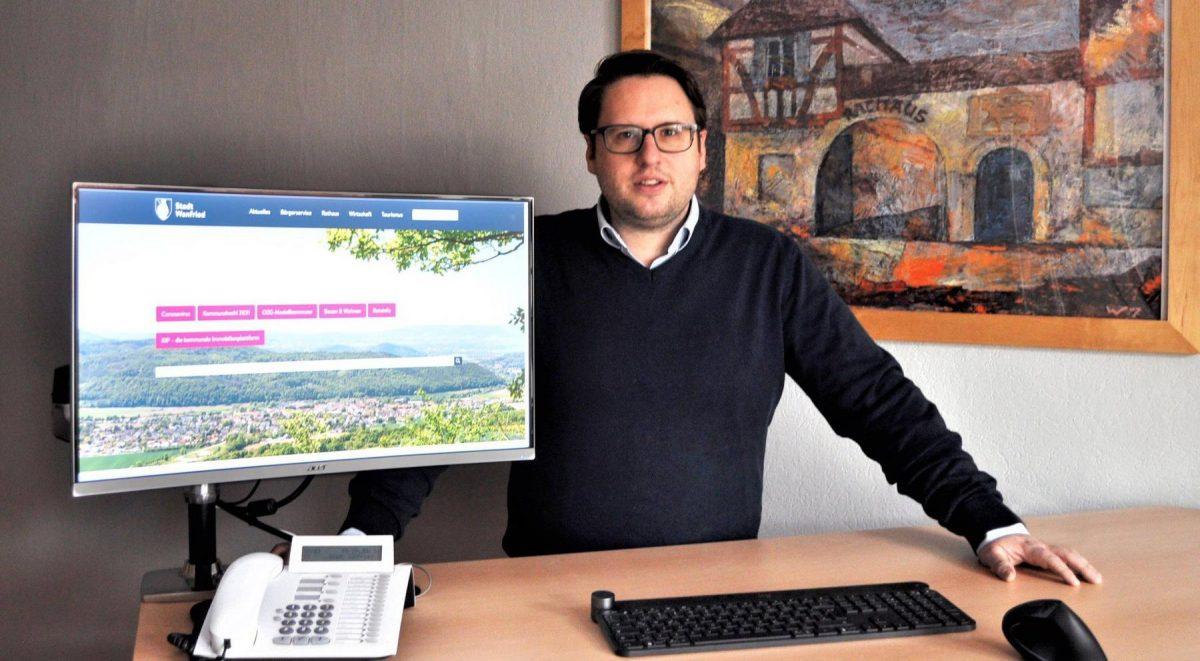 Verwaltungsleiter Christoph Hoffmann. Bild: Christoph Braun, Stadt Wanfried