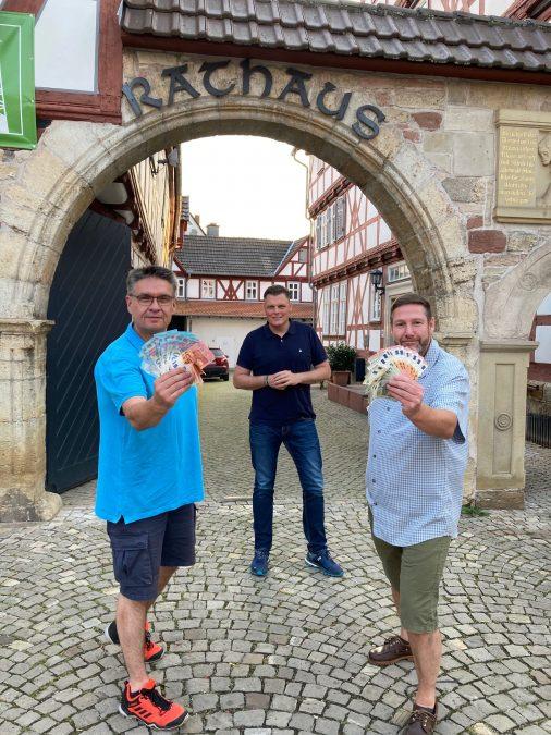 v.l.n.r.: Dirk Holzapfel, Wilhelm Gebhard, Stefan Jäschke